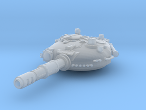 28mm T-72 style turret in Smooth Fine Detail Plastic