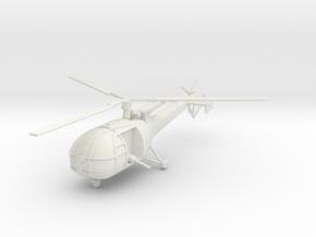 BW01A Alouette III K-Car (1/50) in White Natural Versatile Plastic