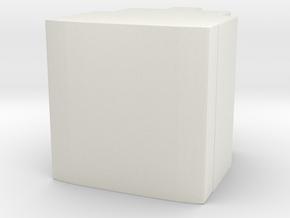 Blank Prime Core in White Natural Versatile Plastic
