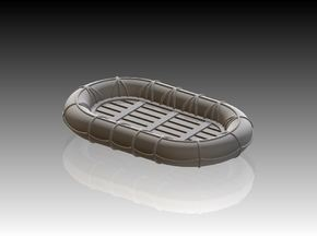 10ft x 6ft Carley float x 2 1/35 in Smooth Fine Detail Plastic