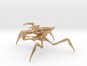 Starship Troopers Arachnoid 1/60 for games and rpg in Natural Bronze