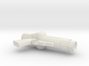 1:3 Smuggler Blaster in White Natural Versatile Plastic