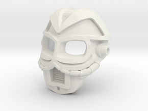 Great Mask of Aging in White Natural Versatile Plastic