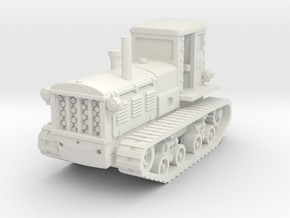 STZ 3 Tractor1/56 in White Natural Versatile Plastic