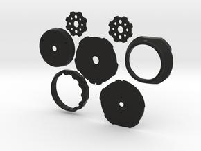 LJ42C Multi Pinhole v3.4 in Black Natural Versatile Plastic