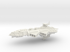 Chaos Cruiser Concept - E in White Natural Versatile Plastic