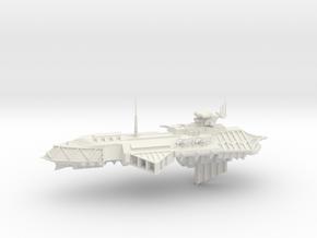 Chaos Cruiser Concept - D  in White Natural Versatile Plastic