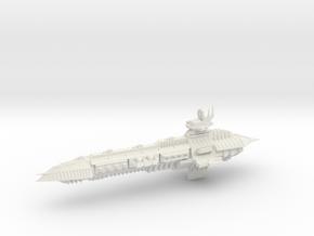 Chaos Capital Cruiser Imperial Renegade - 3 in White Natural Versatile Plastic