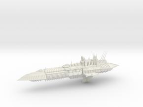 Chaos Cruiser Imperial Renegade - 7 in White Natural Versatile Plastic