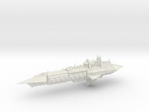 Chaos Cruiser Imperial Renegade - 6 in White Natural Versatile Plastic