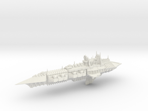Chaos Cruiser Imperial Renegade - 4 in White Natural Versatile Plastic