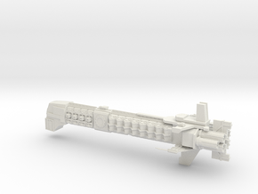 Adeptus Mechanicus Capital Ship - Concept B  in White Natural Versatile Plastic