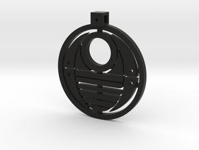 Bohrok Pendent in Black Natural Versatile Plastic