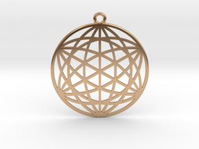 Inter-Galactic Matrix in Polished Bronze