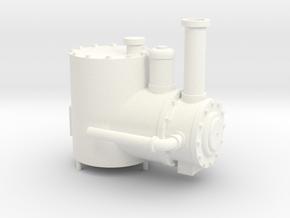 Kato Shay Boiler in White Processed Versatile Plastic