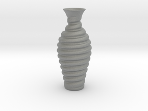 Vase-12 in Gray Professional Plastic