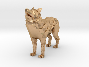 Timber wolf in Natural Bronze