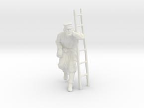 Printle C Homme 1576 - 1/20 - wob in White Natural Versatile Plastic