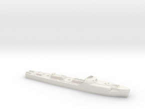 S-100 Schnellboot with depth charges 1:300th Scale in White Natural Versatile Plastic