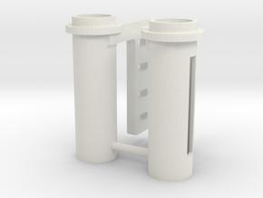 Karmfork Pipe AHTS (2pcs) in White Natural Versatile Plastic