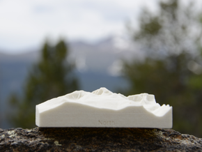 3'' Longs Peak, Colorado, USA, Sandstone in Sandstone