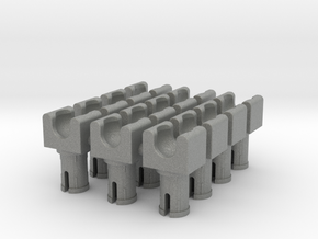 Towball Socket with Pin x12 in Gray PA12