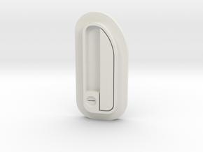 180_door_handles in White Natural Versatile Plastic