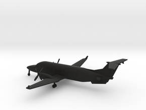 Beechcraft 1900D in Black Natural Versatile Plastic: 1:200