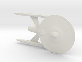 USS Shogun in White Natural Versatile Plastic
