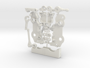 Autoscout Cassette Bot in White Natural Versatile Plastic