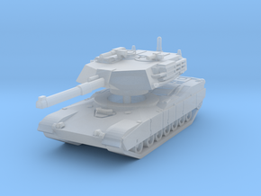 M1 Abrams Tank 1/144 in Smooth Fine Detail Plastic