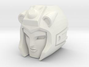 Moonracer head for GCreation GDW-02 Rebel in White Natural Versatile Plastic