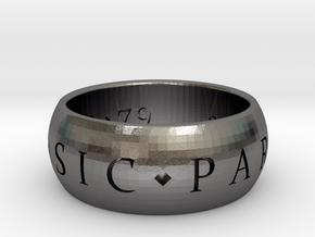 S7_8mm_custom in Polished Nickel Steel