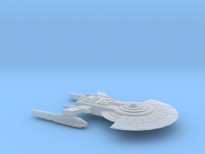 USS Baxter in Smooth Fine Detail Plastic