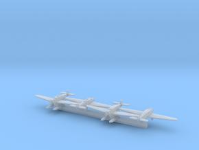 Junkers W.34 & K.43 x4 (FUD) in Smooth Fine Detail Plastic: 1:700
