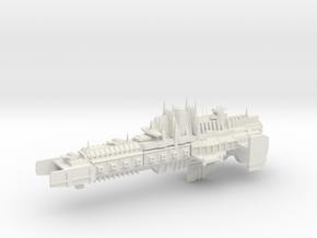 Imperial Legion - Battlebarge - Stoke Concept 1 in White Natural Versatile Plastic