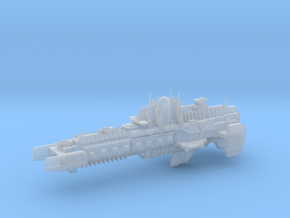 Imperial Legion - Battlebarge - Stoke Concept 1 in Smooth Fine Detail Plastic