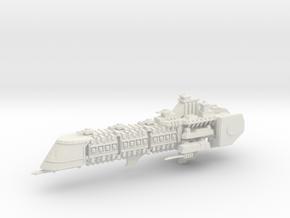 Imperial Legion Super Cruiser - Armament Concept 7 in White Natural Versatile Plastic