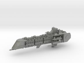 Imperial Legion Super Cruiser - Armament Concept 7 in Gray PA12