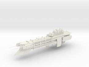 Imperial Legion Super Cruiser - Armament Concept 5 in White Natural Versatile Plastic