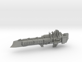 Imperial Legion Super Cruiser - Armament Concept 2 in Gray PA12