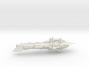 Imperial Legion Super Cruiser - Armament Concept 1 in White Natural Versatile Plastic