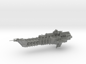 Navy Alternative Cruiser - Concept 1  in Gray PA12