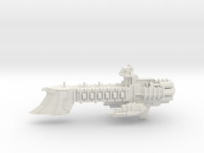 Navy Dauntless Class Escort - Torpedo Armaments in White Natural Versatile Plastic