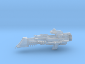 Mars Class Cruiser in Smooth Fine Detail Plastic
