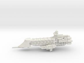 Imperial Frigate - Concept 1 in White Natural Versatile Plastic