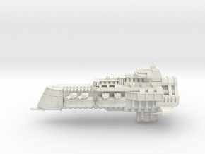 Imperial Legion Cruiser - Concept 1 in White Natural Versatile Plastic