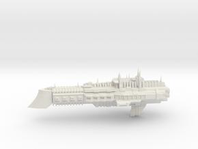 Imperial Legion Cruiser - Concept 8 in White Natural Versatile Plastic