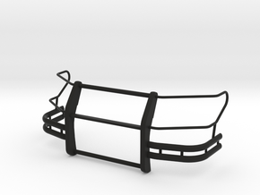 1-18_expl_push_bumper_pit_full in Black Natural Versatile Plastic