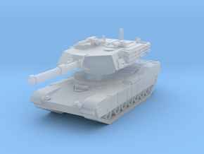 M1A1 Abrams Tank 1/144 in Smooth Fine Detail Plastic